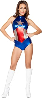 Enhanced American Heroine Costume, Sexy America Costume