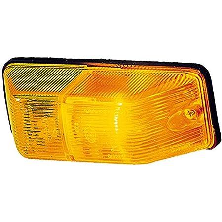 Hella 2bm 006 692 011 Zusatzblinkleuchte Glühlampe 12 24v Anbau Lichtscheibenfarbe Gelb Links Seitlicher Anbau Auto