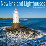 New England Lighthouses 2021 Wall Calendar