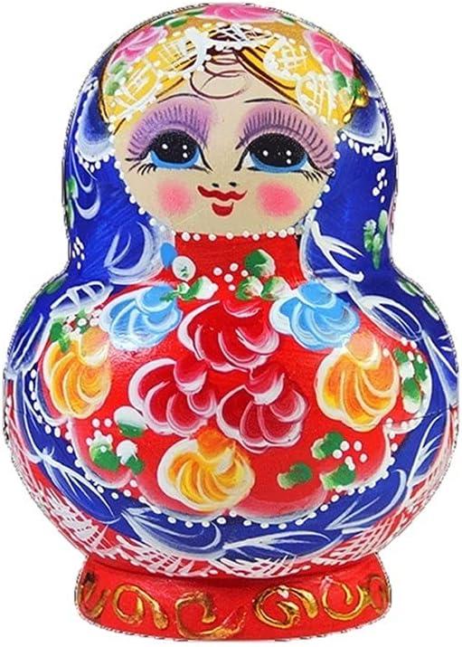 LWSX Outstanding Nesting Dolls Russian Cute Matryoshka Save money 10-Piec