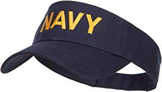 e4Hats.com U.S. Navy Embroidered Twill Visor