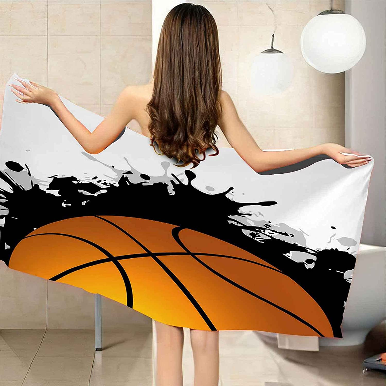 QFMMQI 3D Printing At the price of surprise Microfiber Personalized Towels Max 50% OFF Beach Quic are