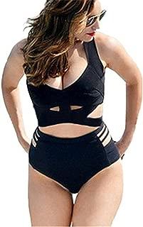GWELL High Waist Push up Women's Slimming Bikini Set 2 Piece Swimsuit