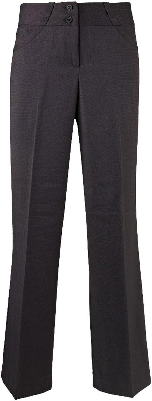 Alexandra Womens/Ladies Icona Wide Leg Formal Work Suit Pants/Trousers