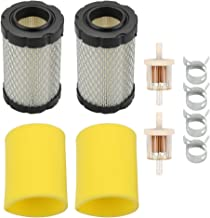 Venseri 796031 Air Filter with Fuel Filter for 797704 591334 594201 31A507 31A707 31E677 Engine for 14395 D100 D105 D110 D130