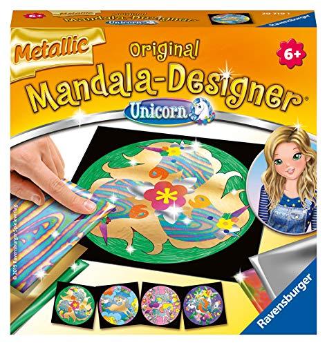 Ravensburger 29719 - Metallic Mandala-Designer Unicorn