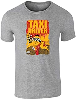 Taxi Driver Bloody Movie Poster Short Sleeve T-Shirt