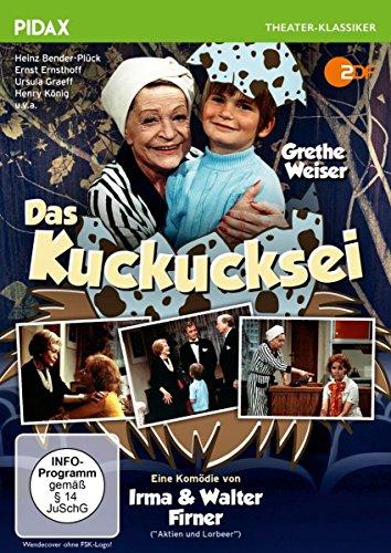 Das Kuckucksei / Warmherzige Kult-Komödie mit der unvergessenen Grethe Weiser (Pidax Theater-Klassiker)