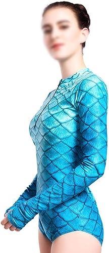 UICICI Combinaison de plongée Femme Bikini Lycra avec Prougeection Solaire