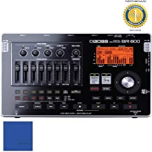 Boss BR-800 Portable 4-Track Digital Recorder with Microfiber and 1 Year Everything Music Extended Warranty