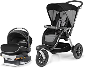 Chicco Activ3 Jogging Stroller and KeyFit 30 Zip Infant Car Seat Travel System - Q Collection