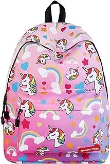 Mochila Unicornio,Bolsos de Escuela Unicornio para niñas Mochila para niños Mochila para Adultos Mochila de Viaje para Adultos