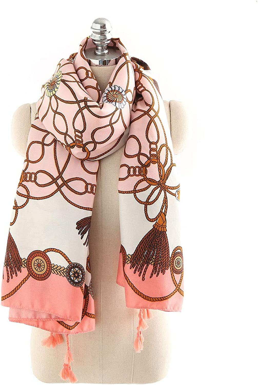 Women's Scarves Spring Summer Comfortable Travel Pink Beach Towel Scarf (color   orange)