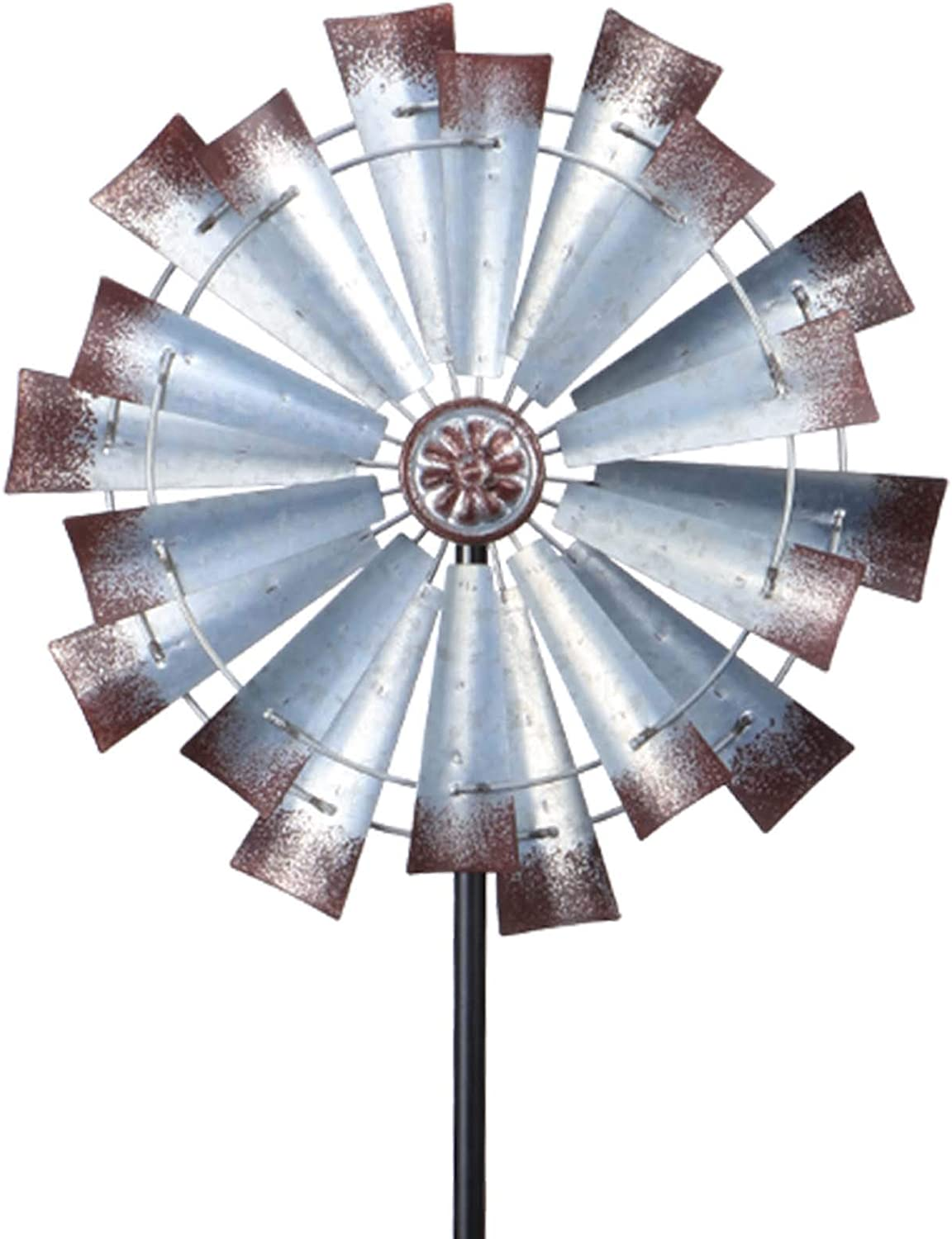 MUMTOP New arrival Wind Spinner Retro Large Two-Way Sculptures Max 68% OFF Enjo for