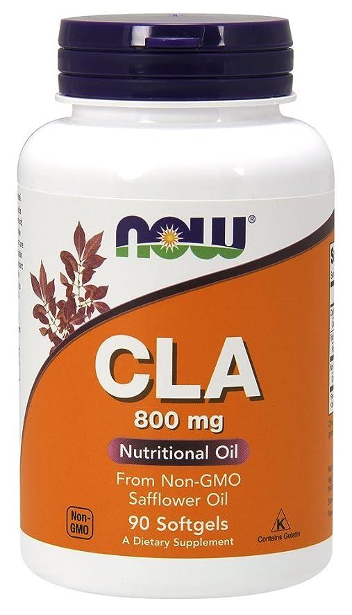 肘不規則な糞[海外直送品] ナウフーズ CLA 800 mg 90 Sgels by