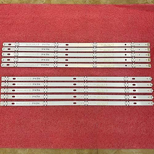 Miwaimao 10 PCS/Set LED Backlight Strip For LG 55UJ635V...