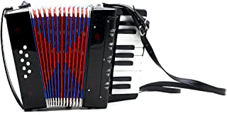 ammoon 17-Key 8 Bass Mini Small Accordion