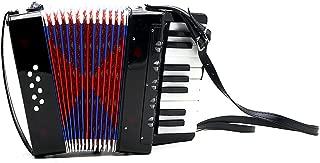 ammoon 17-Key 8 Bass Mini Small Accordion