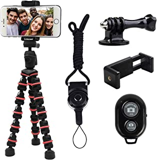 Phone Tripod, Linkcool Octopus Tripod with Wireless Remote Phone Holder Mount Use as iPhone Tripod, Cell Phone Tripod, Cam...
