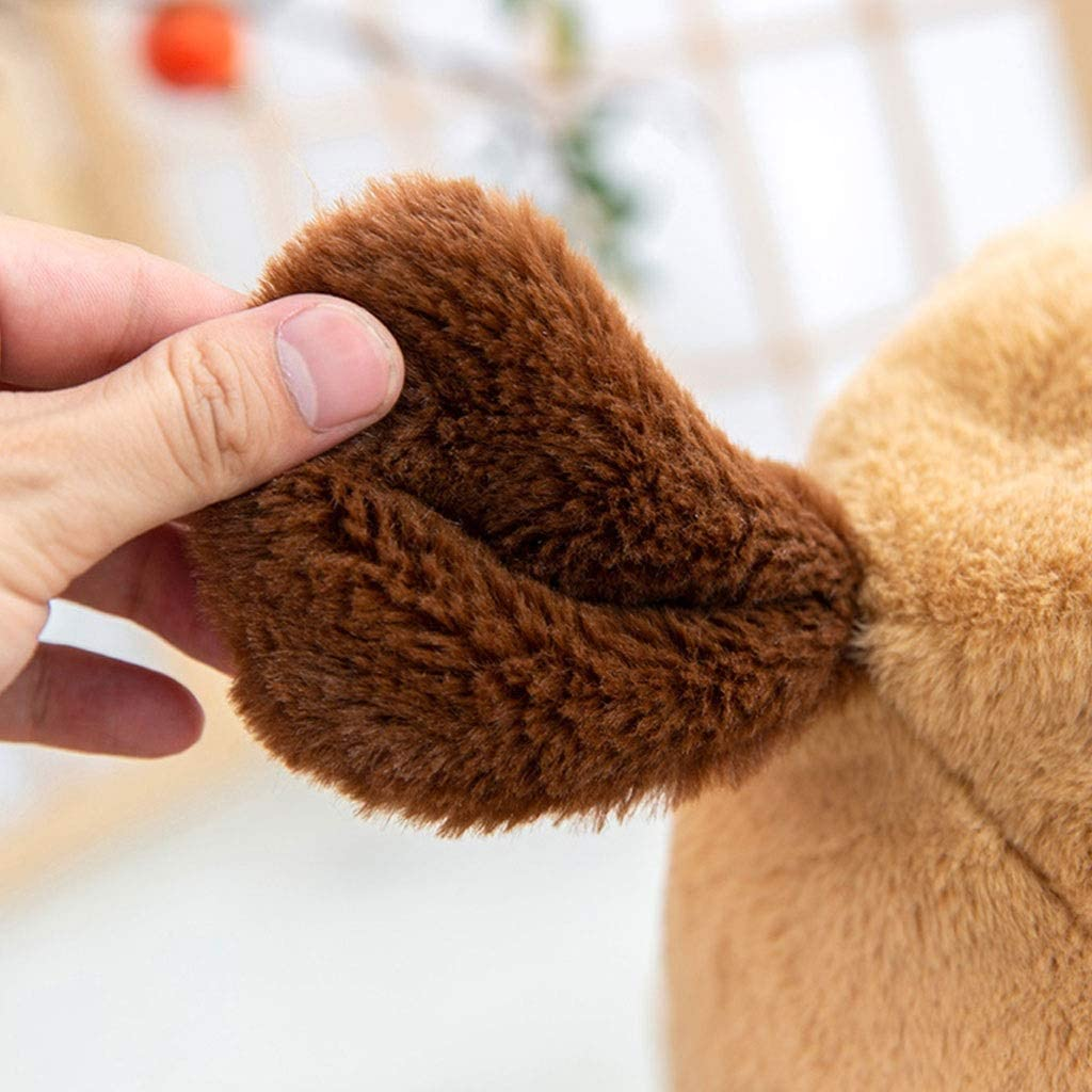 YAN QING SHOP Petit Tabouret Accueil Creative Mignon Tabouret Bas Cartoon Tissu Tabouret Table Basse Tabouret Tabouret Bas Salon Petit Banc Chaise (Couleur : Elephant) Puppy