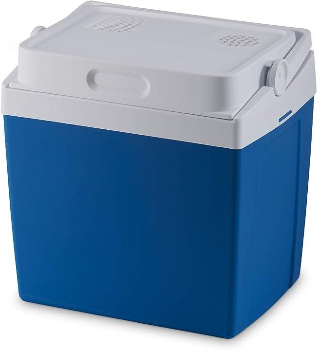 Frigorifero portatile elettrico, 25 l, mini frigo per auto, camion, barca o camper, 12 v o 230 v mobciool mv26 9600026560