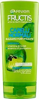 Garnier Balsamo Fructis Hydra Liss & Shine, Balsamo per Capelli Difficili da Lisciare, Secchi o Crespi, 200 ml