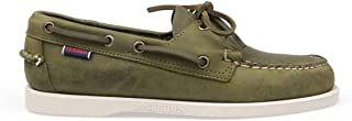 Luxury Fashion | Sebago Men 70015H0909 Green Leather Loafers | Spring-summer 20
