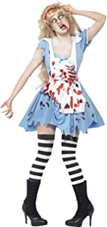 TOPJIN Women's Bloody Horrible Doctor Costumes Halloween Party Cosplay Fancy Dress