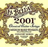 La Bella(ラベラ) クラシックギター弦 2001 Classical Medium-Hard ミディアム・ハードテンション