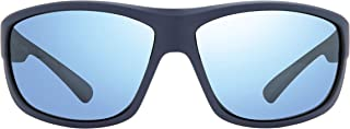 Revo Mens Polarized Sunglasses Caper x Bear Grylls Wraparound Frame 66 mm