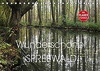 Wunderschoener Spreewald (Tischkalender 2022 DIN A5 quer): Farbige Bilder der Kulturlandschaft Spreewald (Geburtstagskalender, 14 Seiten )