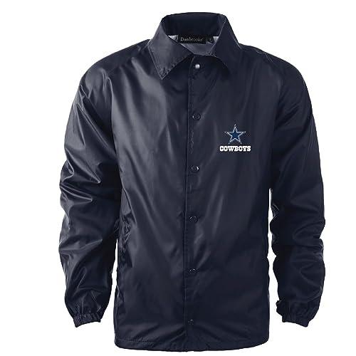 b2dda69be Dunbrooke Apparel NFL Coaches Windbreaker Jacket