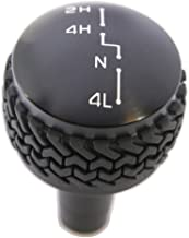 Drake Off Road JP-180011-BK Black Shift Knob for Jeep JK