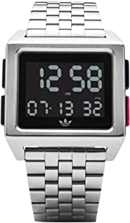 885959c411a3 Adidas by Nixon Reloj Hombre de Digital con Correa en Acero Inoxidable  Z01-2924-