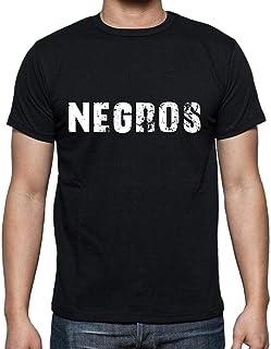 Negros,Men`s Short Sleeve Round Neck T-Shirt 00004 CasualUltrabasic