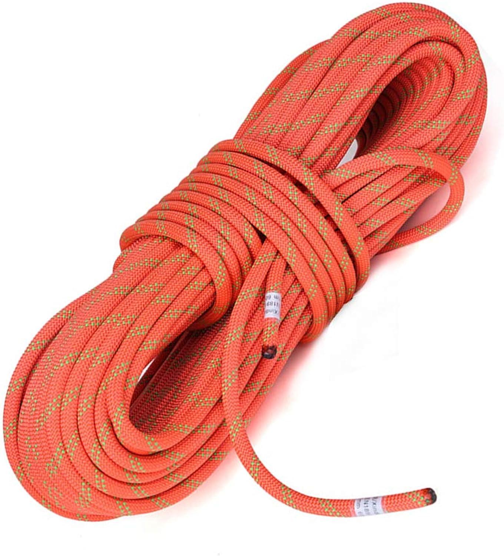 YYBT Felskletter-Rope 10m 20m 30m 40 m Mutil-use Home Rope Wear-resistente Professional Climbing Equipment High Strength Cord Diameter 11mm,Orange,11mm 20m B07NRYBSP3  Modernes Design