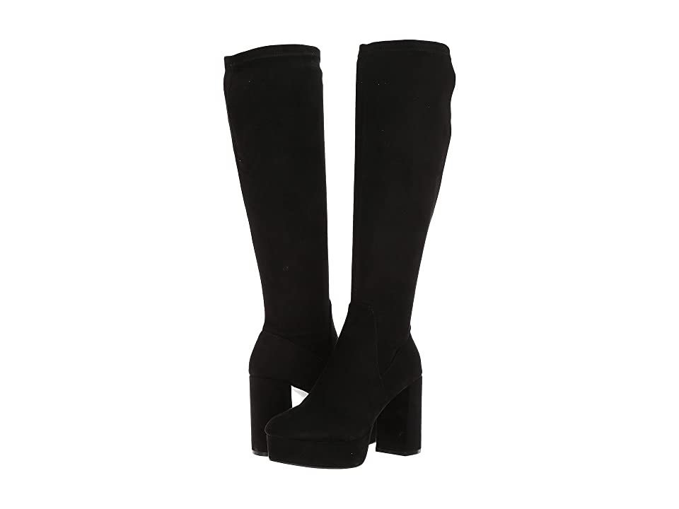 Chinese Laundry Nancy Boot (Black Suedette) Women