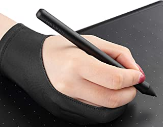 Beauenty Art Finger Glove for Drawing Tablets Anti-fouling Lycra Glove Artist Drawing Glove for Graphics Tablet Left or Ri...