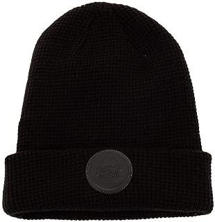 Unisex Air Beanie Knit Hat (Black/Reflective Black)