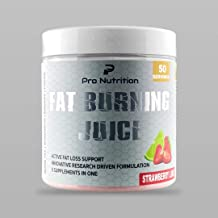 PRO NUTRITION – Fat Burning Juice 50 Servings for Women Men Vegan Gluten Free Strawberry Lime Estimated Price : £ 35,00
