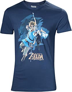 Zelda Breath of the Wild T-shirt-M LINK avec flèche