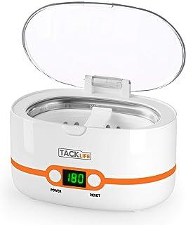 Nettoyeur à ultrasons, Tacklife MUC02 nettoyeur à ultrasons professionnel nettoyant à ultrasons 600ml avec 5 réglages de temps pour nettoyer les lunettes, les montres, les ustensiles et bien plus