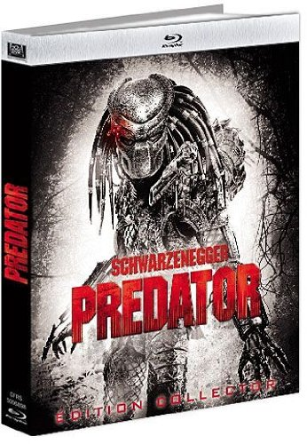 Arnold Schwarzenegger - Predator - Digibook Collector Blu-ray + DVD + Livret (2 Blu-ray)