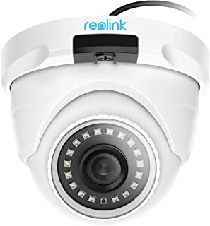 Reolink Home Security Outdoor/Indoor IP Surveillance Dome Camera (4MP Add-on PoE Camera, Only Work with Reolink PoE NVR)