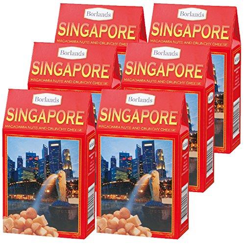 シンガポール 土産 シンガポール チーズ&ナッツ 6箱セット (海外旅行 シンガポール お土産)