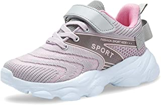 Sponsored Ad - Forucreate Kids Running Shoes Breathable Boys Sneakers Girls Lightweight Athletic Shoes
