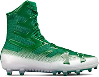under armour cleats green