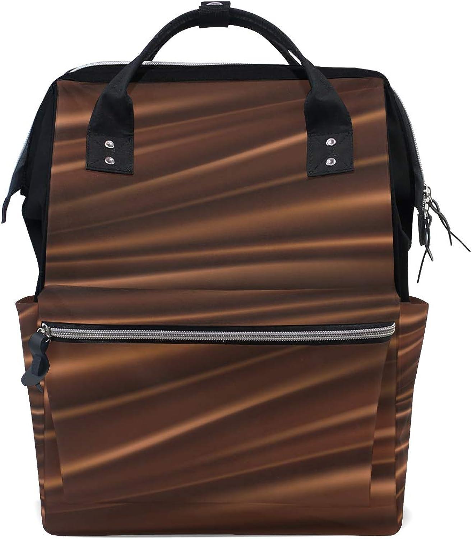 b178069306b54 MONTOJ Delicious Silk Chocolate Travel Bag Campus Backpack Creamy Canvas  nyxzgr5214-Sporting goods