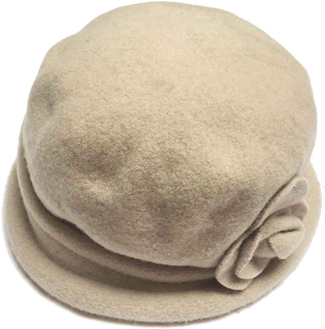 Parkhurst Women's Spencer Wool Cloche Hat