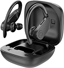 $25 » PowerPro Sport Wireless Earbuds - [Upgraded] Powerbeats Pro Style Bluetooth 5.0 Headphones True Wireless IPX7 Waterproof 50H Playtime in-Ear Stereo Earphones with Charging Case for Running Workout Gym